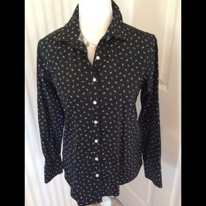Land's End Blouse Size 4P